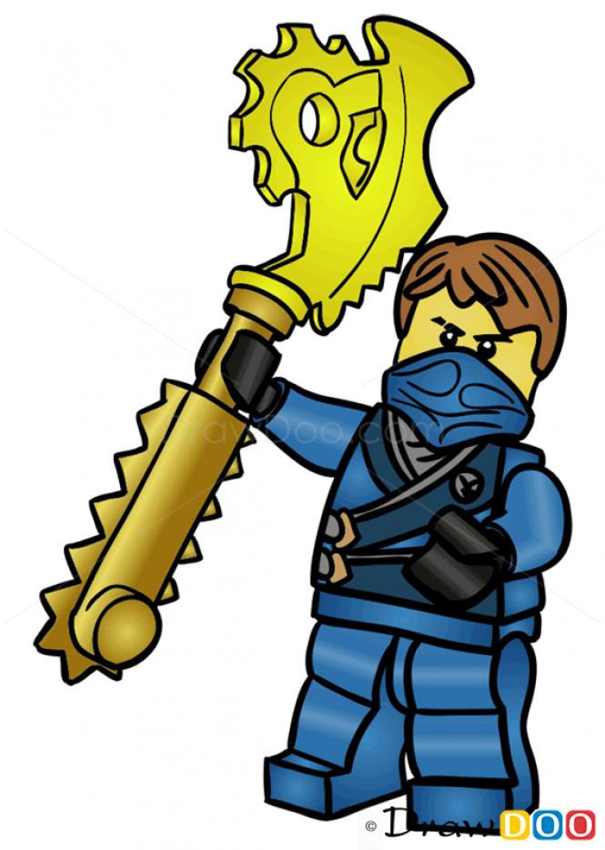665x934 Collection Of Lego Ninjago Jay Drawing High Quality, Free