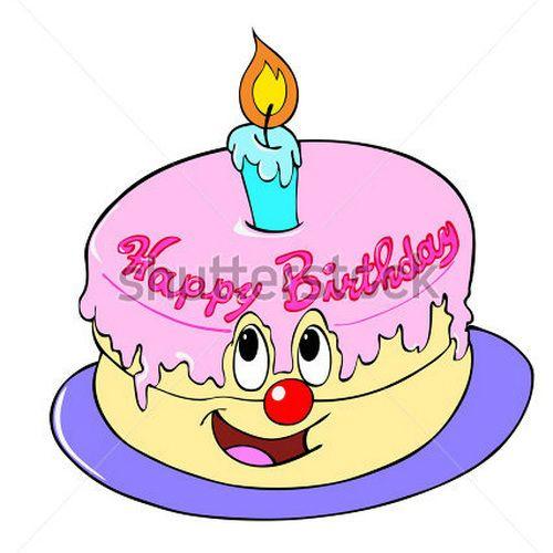 500x500 Birthday Clipart Animated Animated Birthday Cake Clip Art Birthday