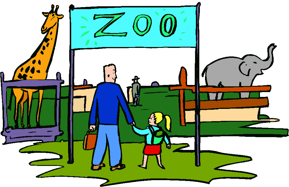 1015x656 Clip Art Zoo Animals