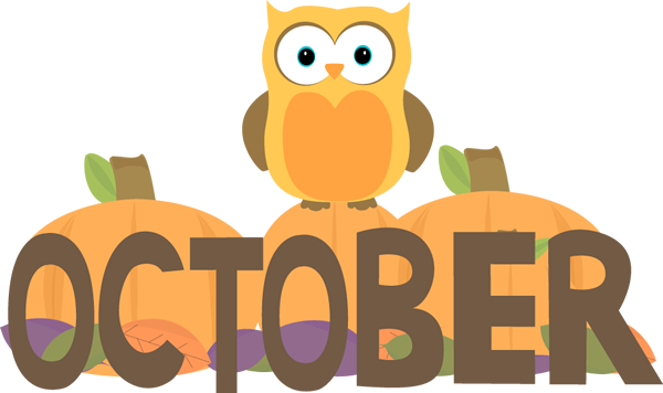 600x356 Free Month Clip Art Month Of October Owl Clip Art Image