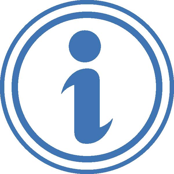 600x600 Information Icon Clip Art