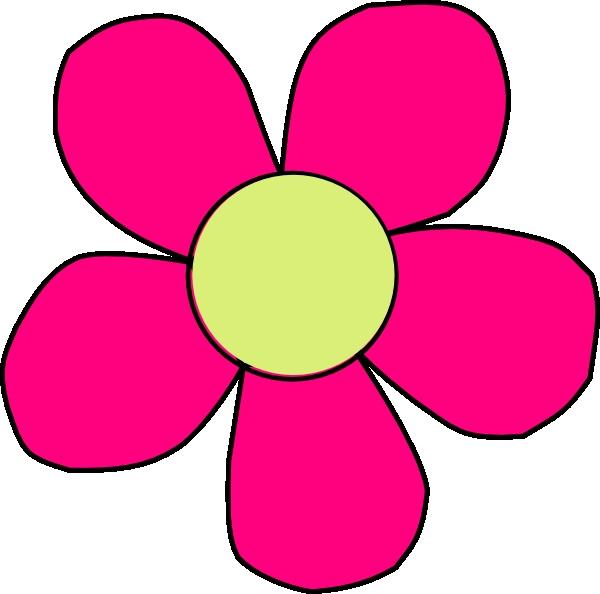 600x594 Neon Flower Clipart Flower Clip Art At Clker Vector Clip Art