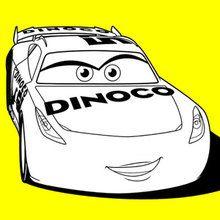 220x220 Cars 3 Cruz Ramirez Dinoco Coloring Page Disney Coloring