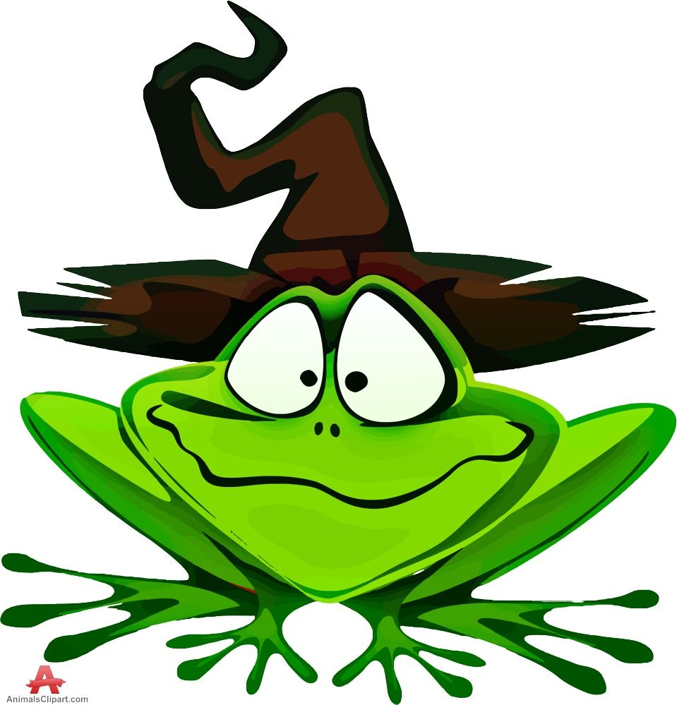 959x999 Frog With Wizard Hat Clipart Free Clipart Design Download Frog