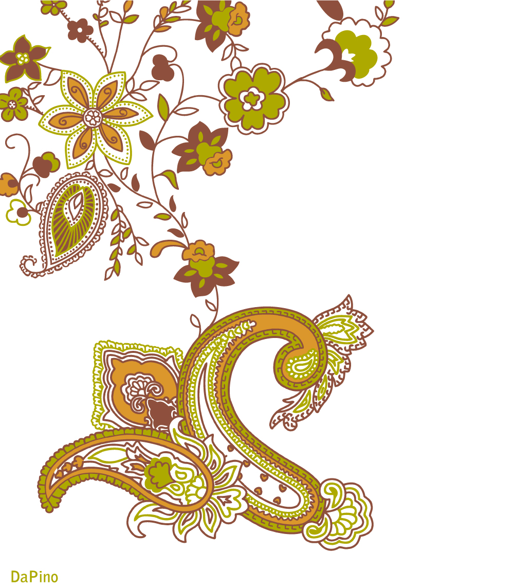 Free Paisley Clipart