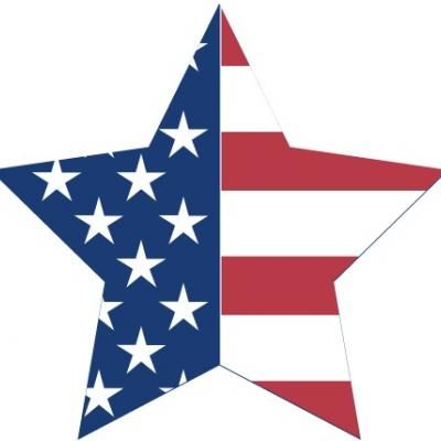400x400 Patriotic Star Clipart {Fourth Of July} Star Clipart, Clip Art