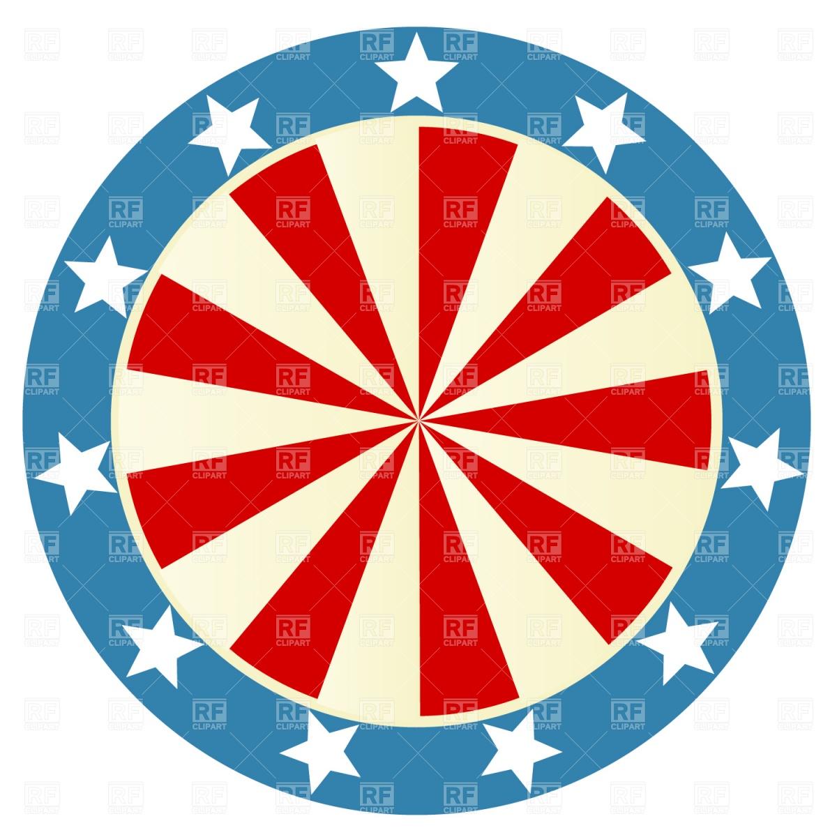 1200x1200 Patriotic Round Badge Vector Image Vector Artwork Of Design