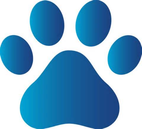 480x439 Free Clipart Paw
