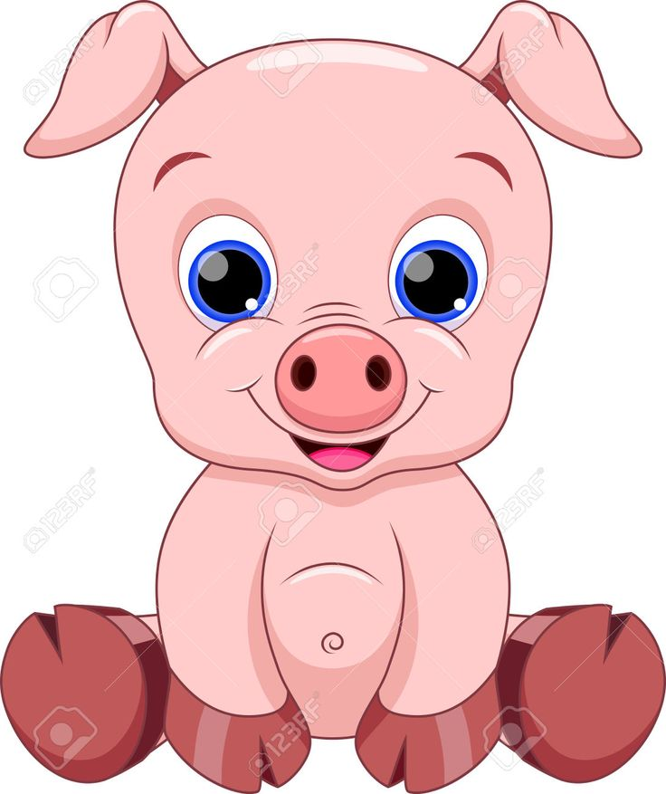 736x877 Collection Of Cute Pig Clipart High Quality, Free Cliparts