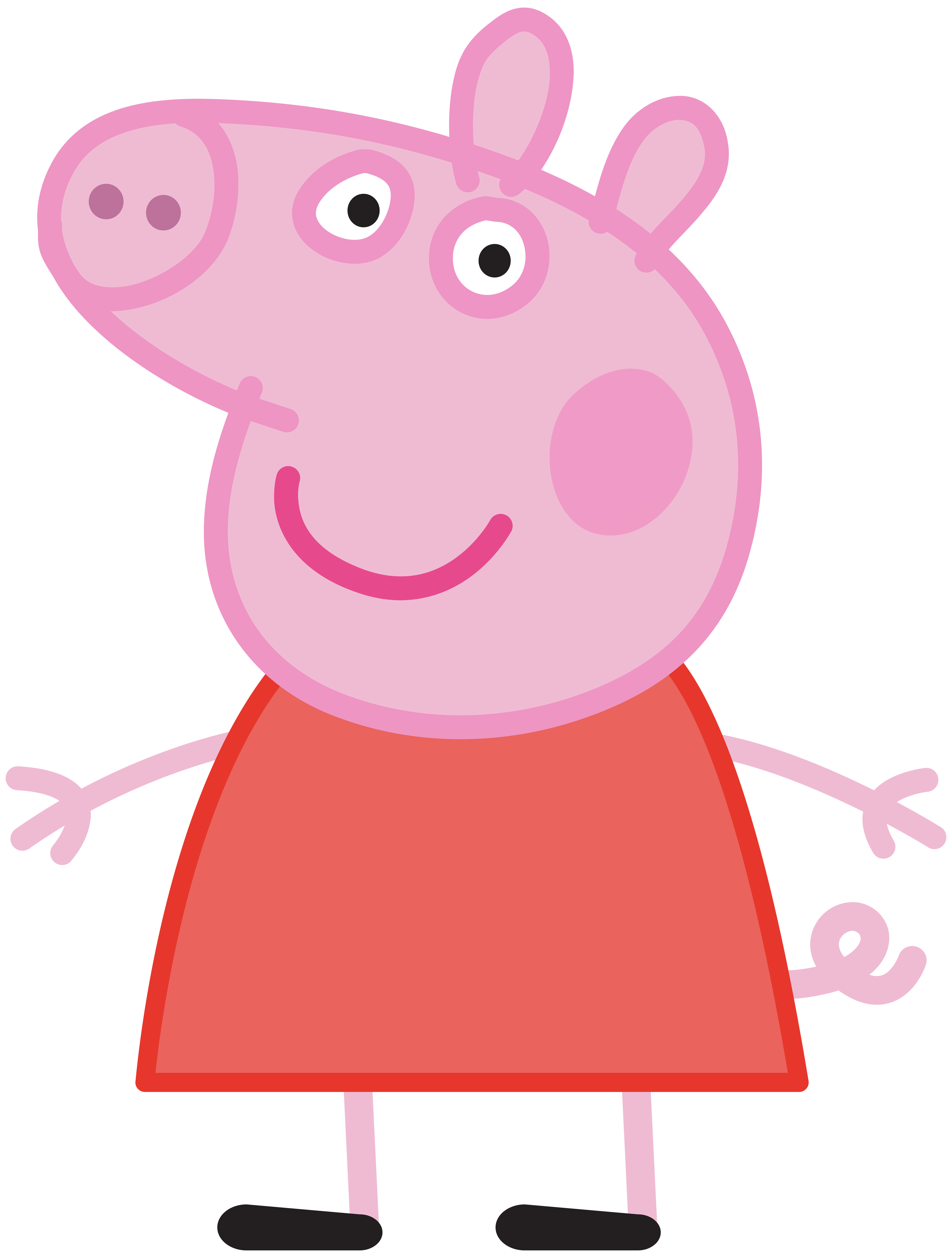 6057x8000 Peppa Pig Transparent Png Image Advik Birthday Free