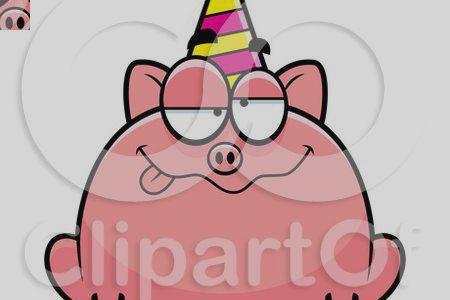 450x300 Birthday Pig Clipart