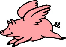 220x157 Gallery Free Clip Art When Pigs Fly,