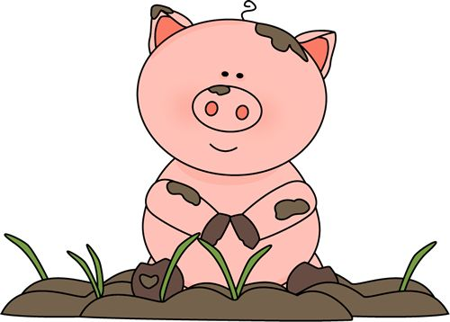 500x358 Best 167 Pig Clip Art Images On Pigs, Little Pigs