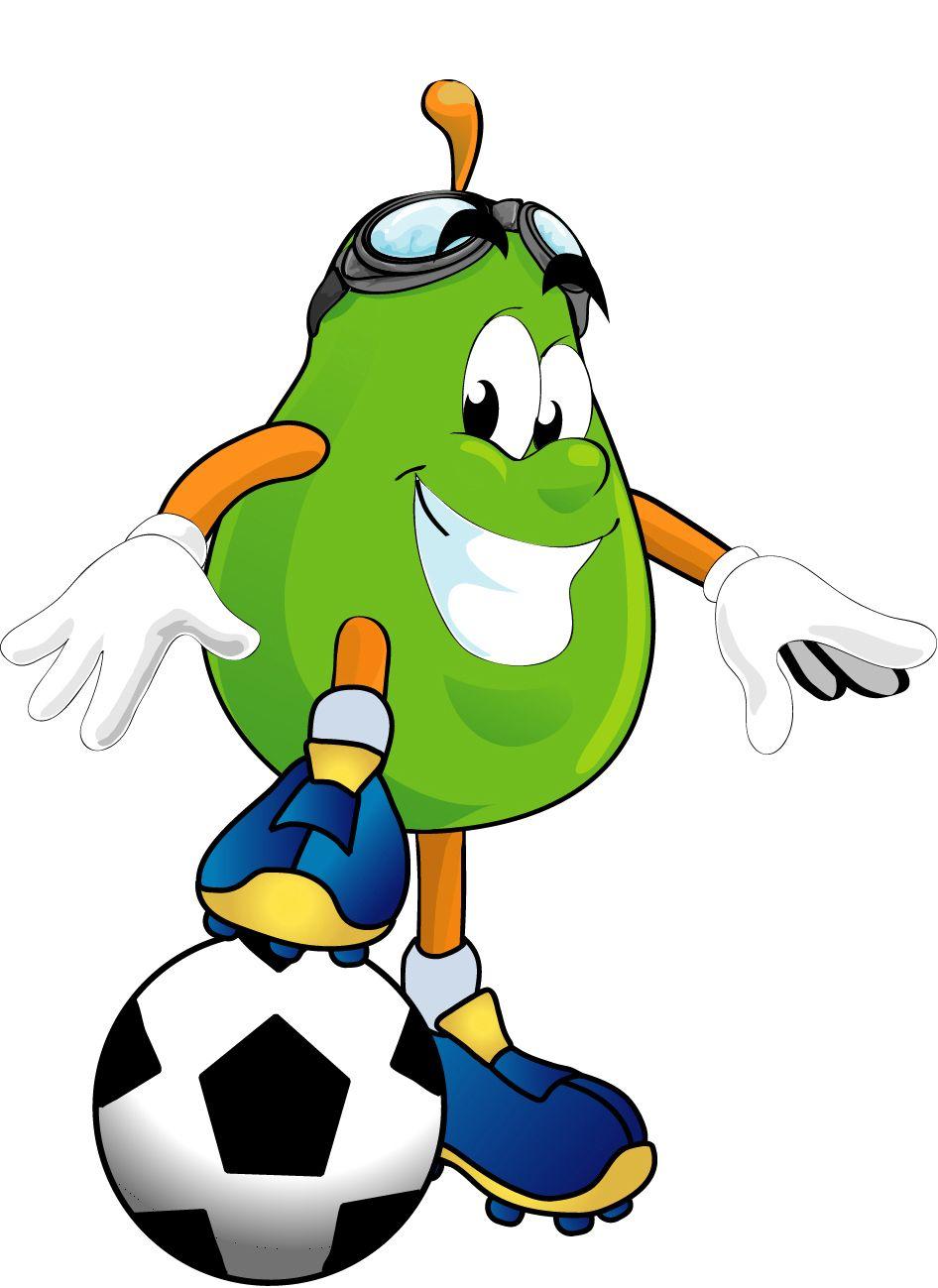 946x1299 Image For Pear Playing Football Health Clip Art Health Clip Art