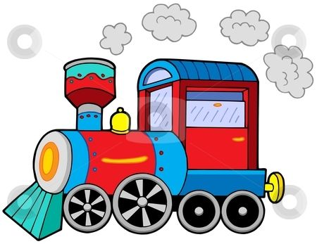 450x347 Cartoon Train Engine To Use This Stock Image In Your Creative