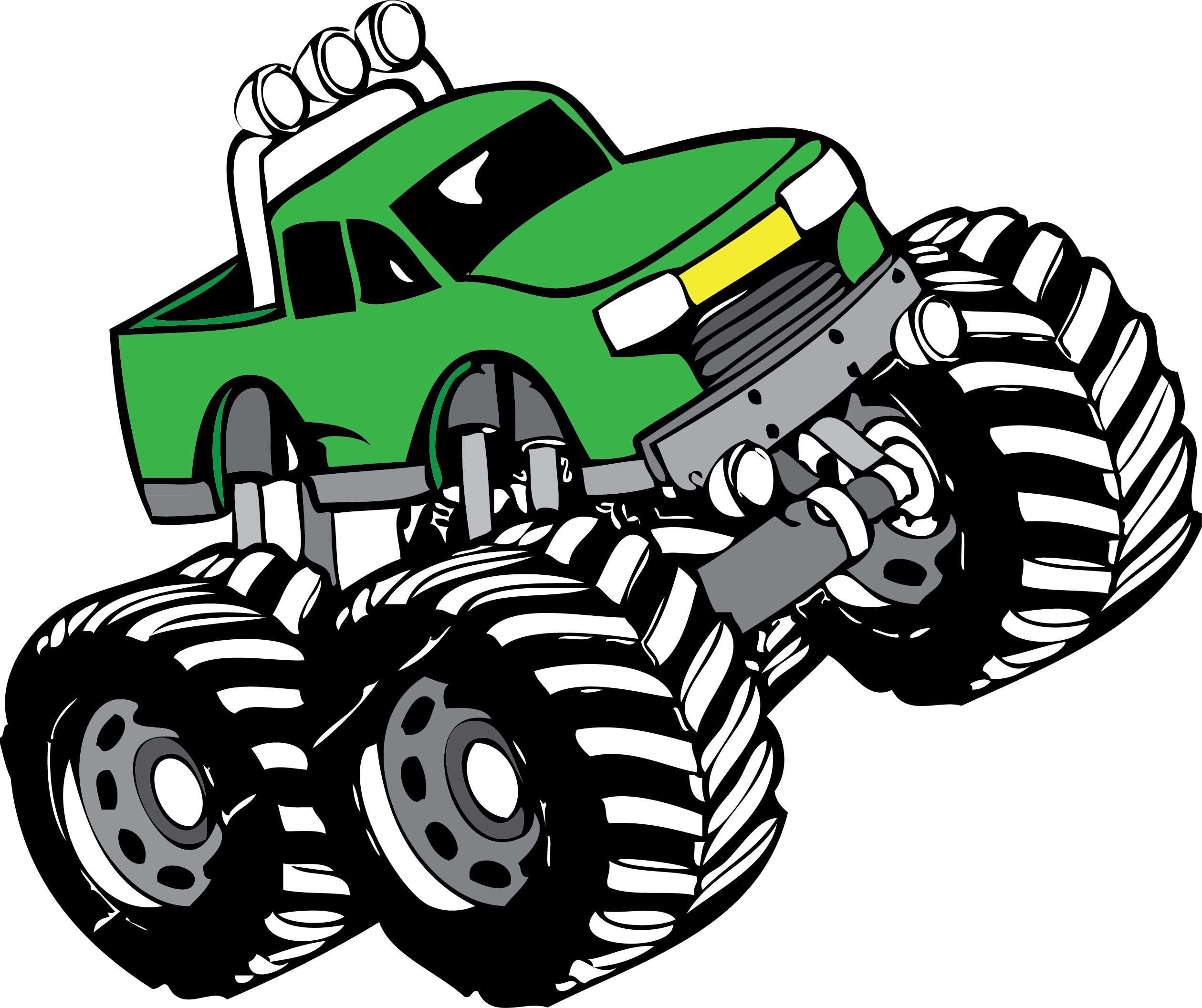 2519x2113 Monster Truck Clip Art Free Collection Download And Share