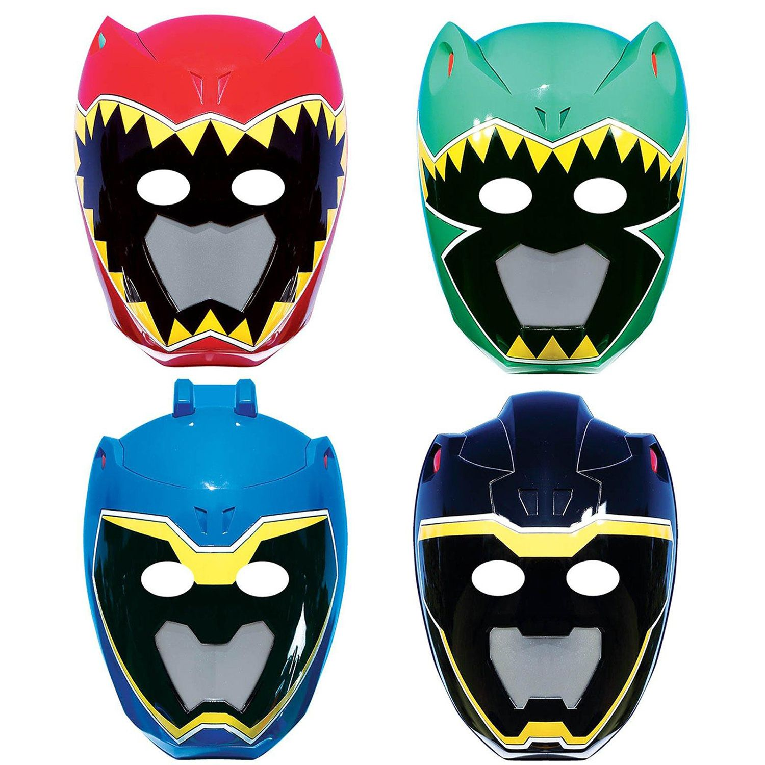 1500x1500 Power Rangers Dino Charge Paper Masks