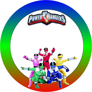 320x320 Power Rangers Free Printable Candy Buffet Labels. Oh My Fiesta