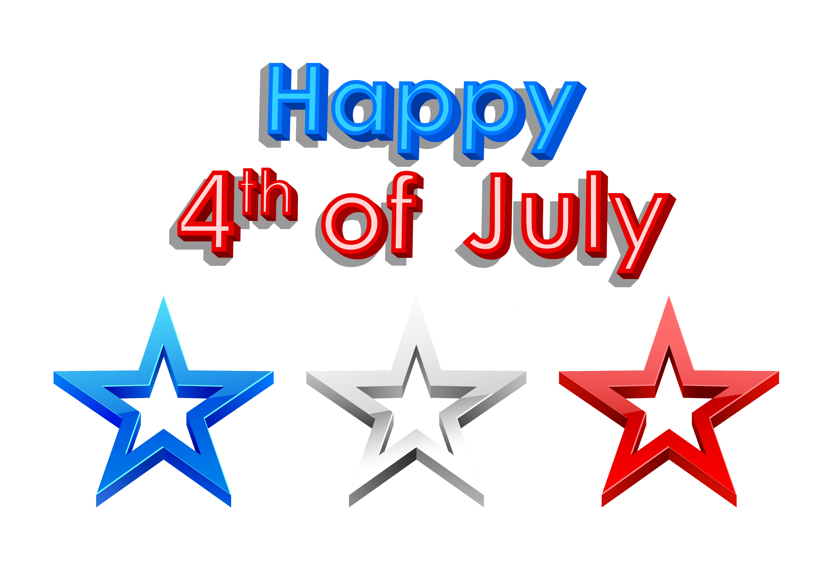 3459x2402 Best 4th Of July Clip Art Images Borders Gif Banners