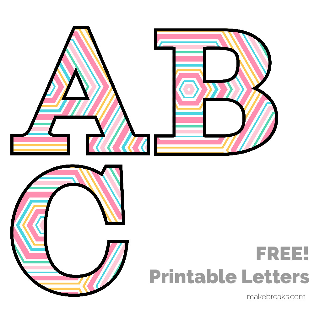 1000x1000 Free Printable Letters Numbers Archives
