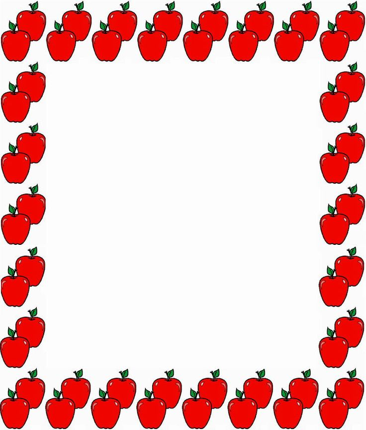 736x864 Image Of School Clipart Borders