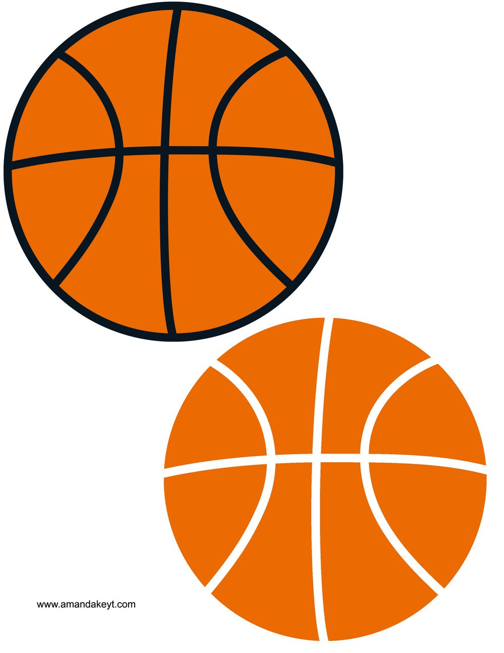 photo about Basketball Clipart Free Printable identified as Totally free Printable Basketball Clipart at  Cost-free