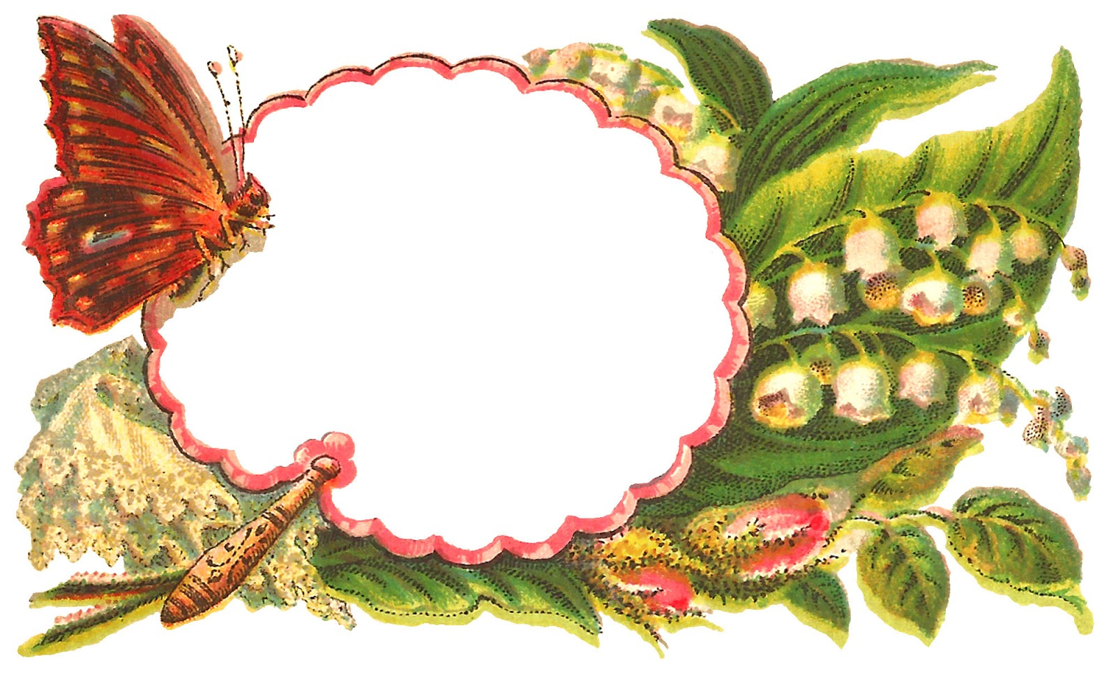 1600x966 Antique Images Free Digital Butterfly Label Crafting Clip Art