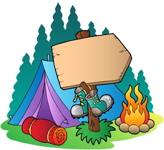 560x512 Free Clipart Camping School Clipart