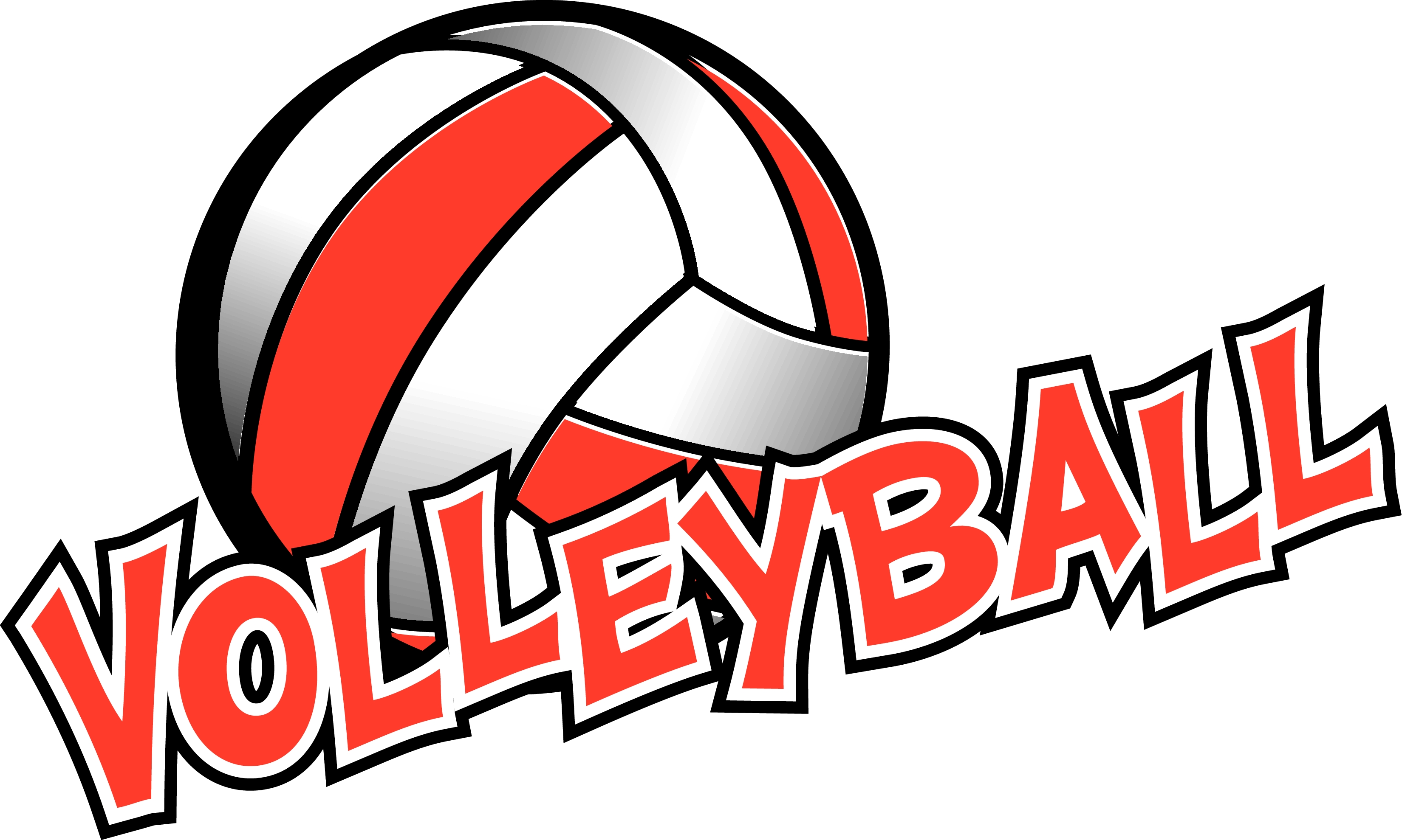 3300x1979 Collection Of Free Printable Volleyball Clipart High Quality