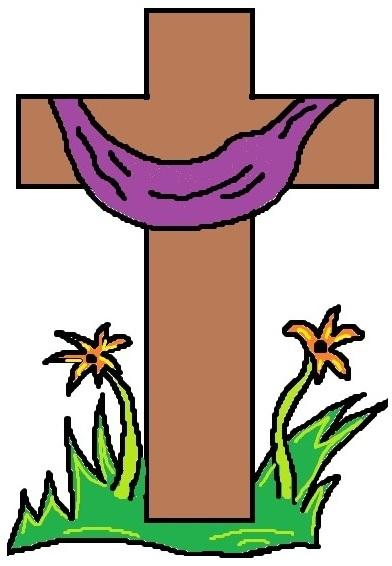 392x566 Free Easter Cross Clipart Merry Christmas And Happy New Year 2018