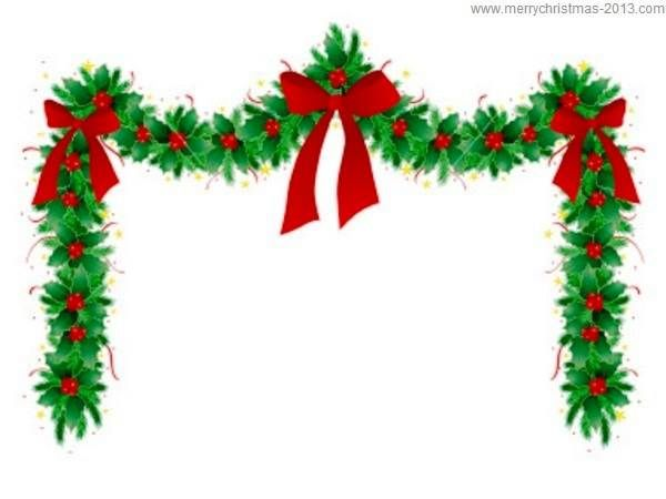 600x450 Holly Border Clip Art Free (10 Images) Gorapia Templates