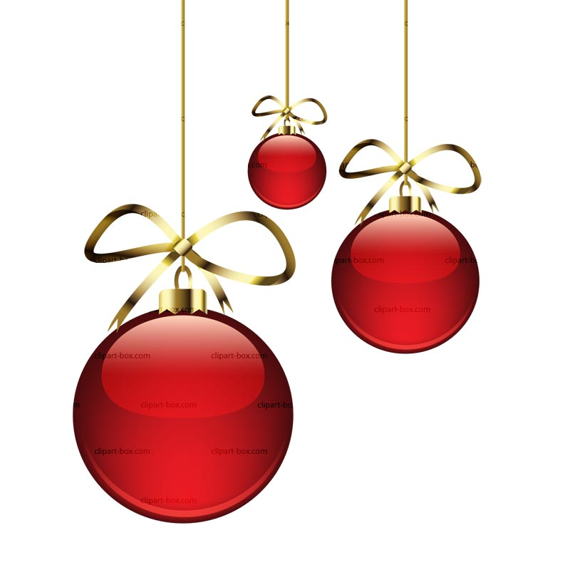 800x800 Christmas Bulbs Clipart
