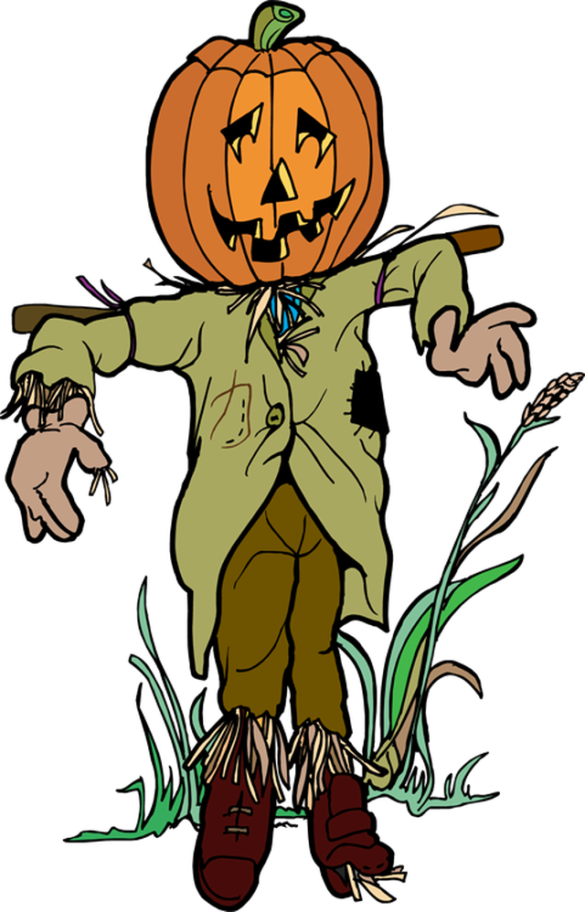 640x998 Free Scarecrow Clipart Pictures