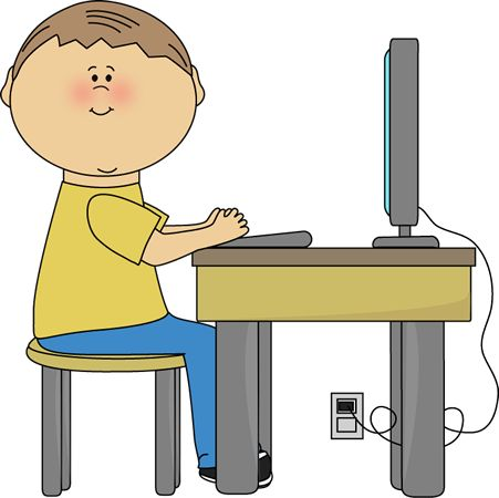451x450 Free Printable Computer Clipart For Kids