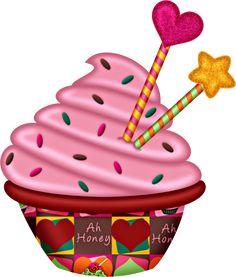 236x277 Free Cupcake Clip Art (Delightful Distractions) Clip Art, Free