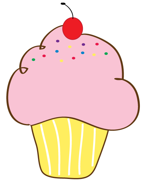 459x586 Free Cupcake Clipart Pictures And Free Printable Cupcake Wrappers