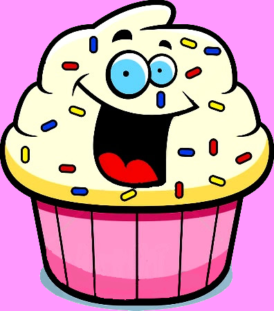 396x450 Muffin Clipart Face