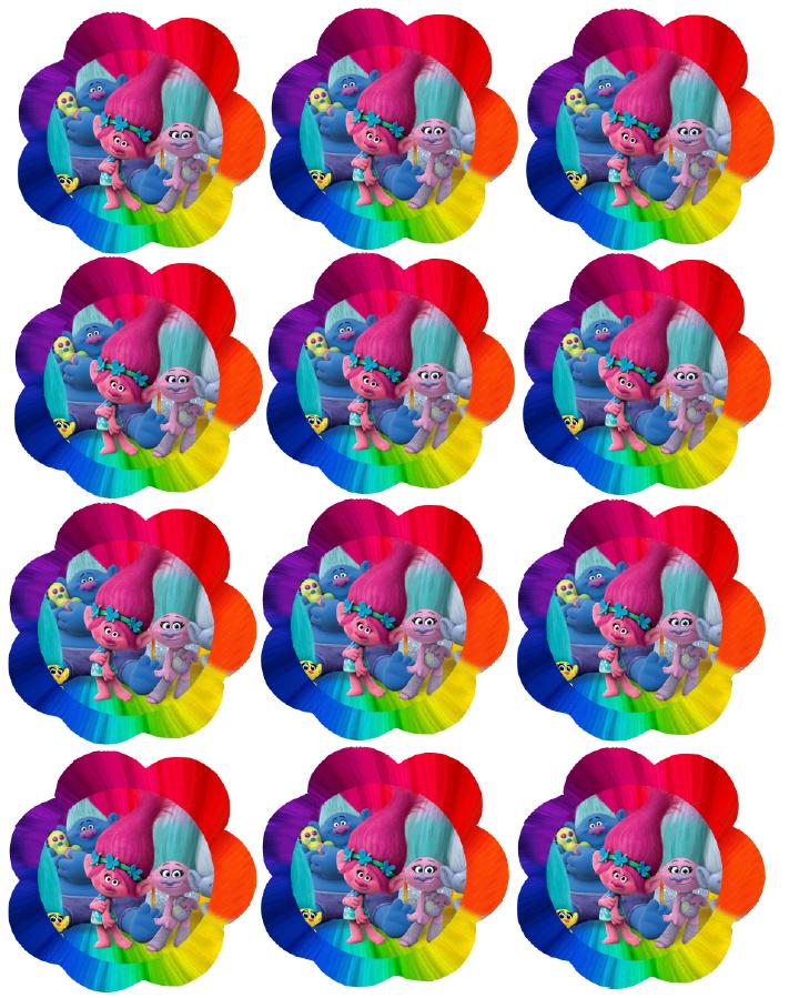 711x899 Printable Cupcake Toppers 1