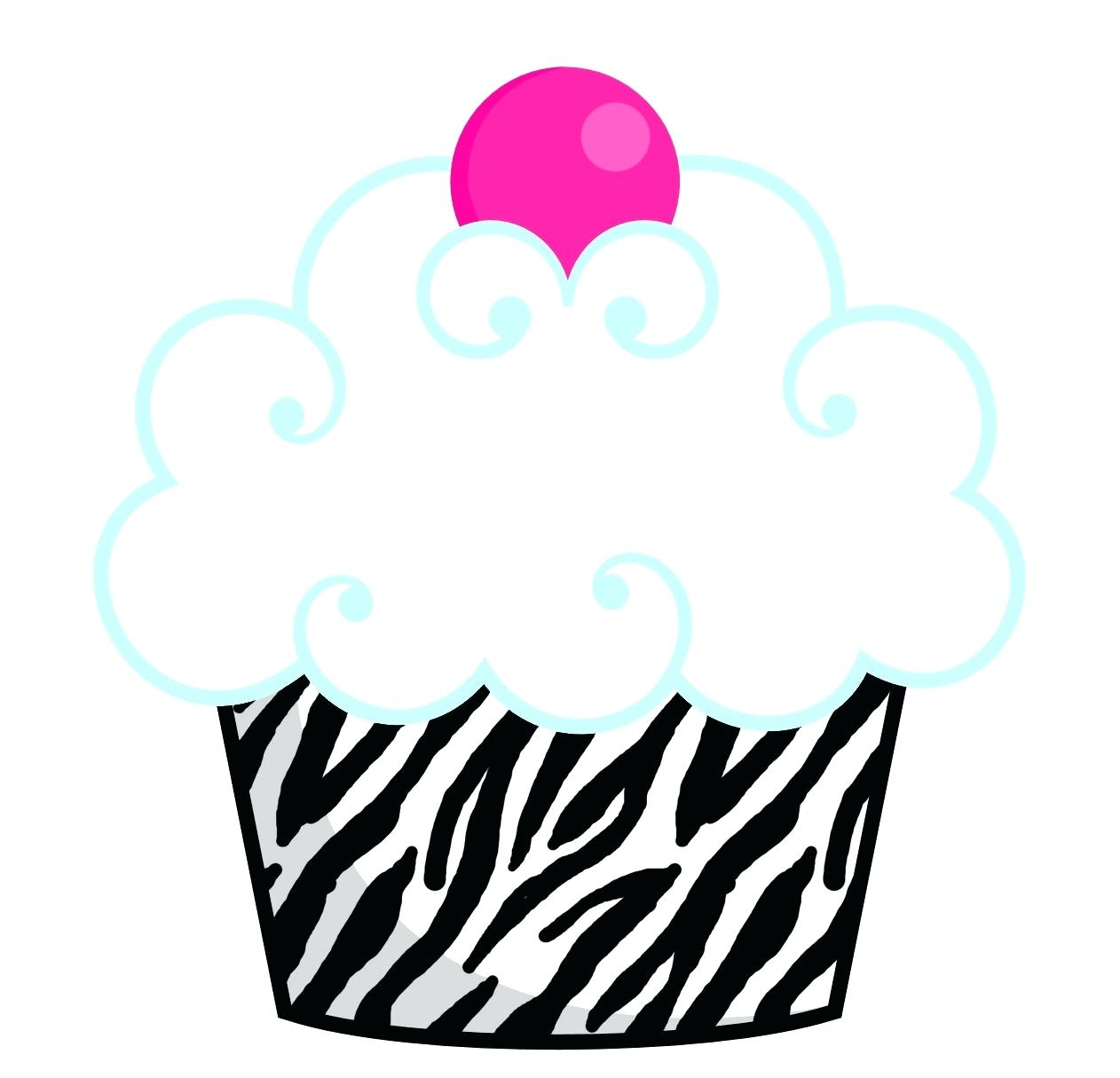 1262x1215 Printable Printable Cupcake Clip Art Black And White Cute