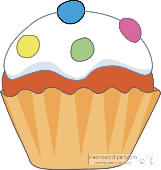 521x550 Clipart Cupcakes
