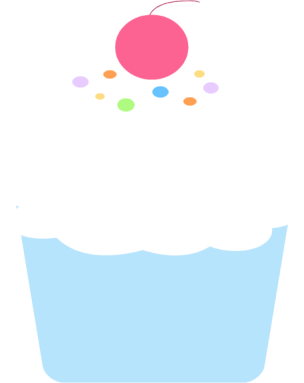 304x383 Cupcake Clip Art