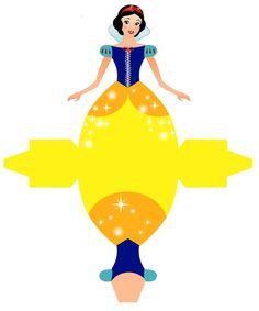 236x283 Caixa Vestido Das Princesas Da Disney! Papercraft, Printable