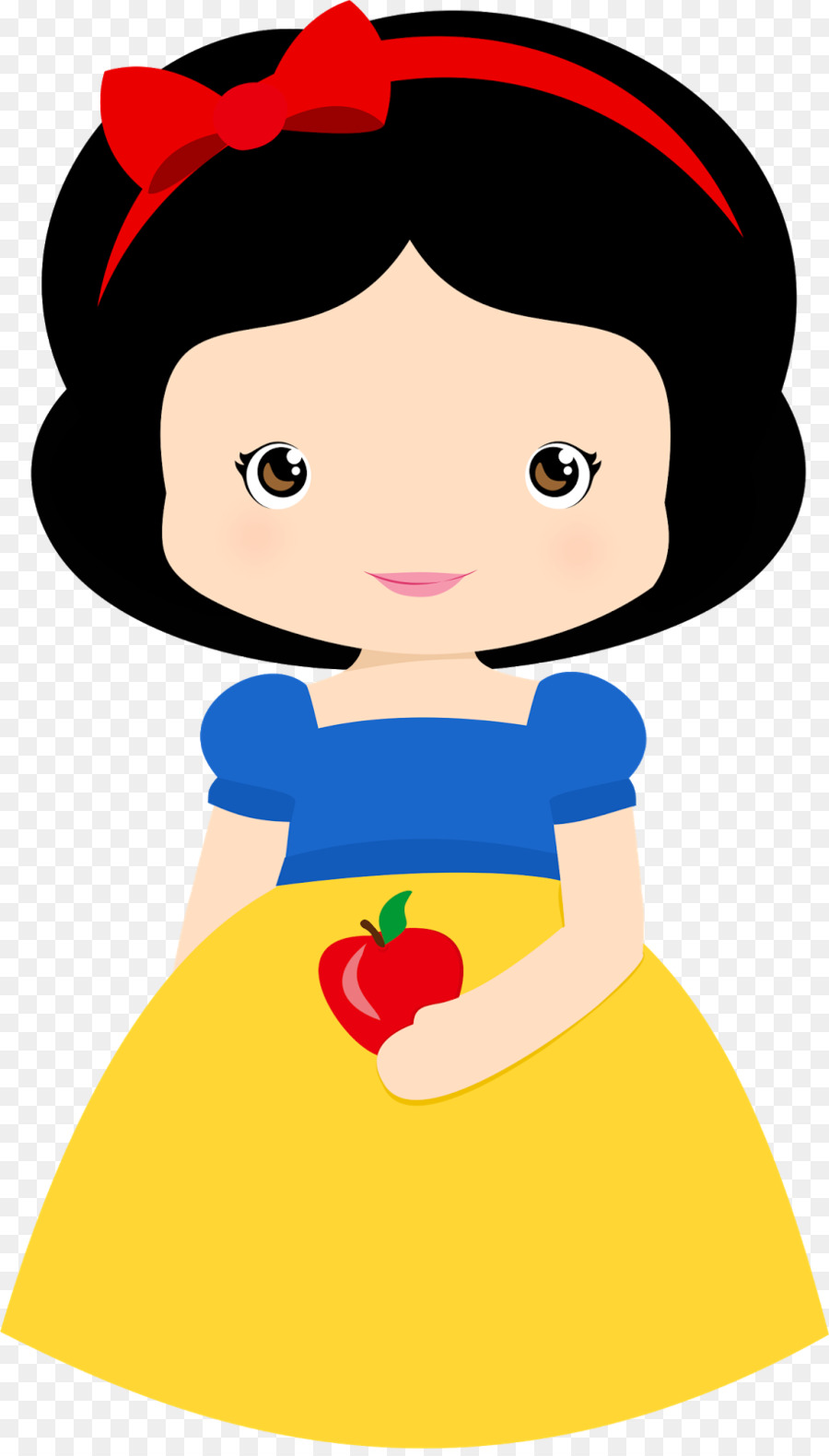 900x1580 Snow White Sneezy Disney Princess Clip Art