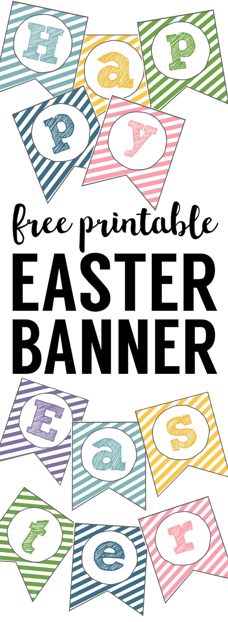 photo relating to Happy Easter Banner Printable identified as Totally free Printable Easter Clipart at  Absolutely free for