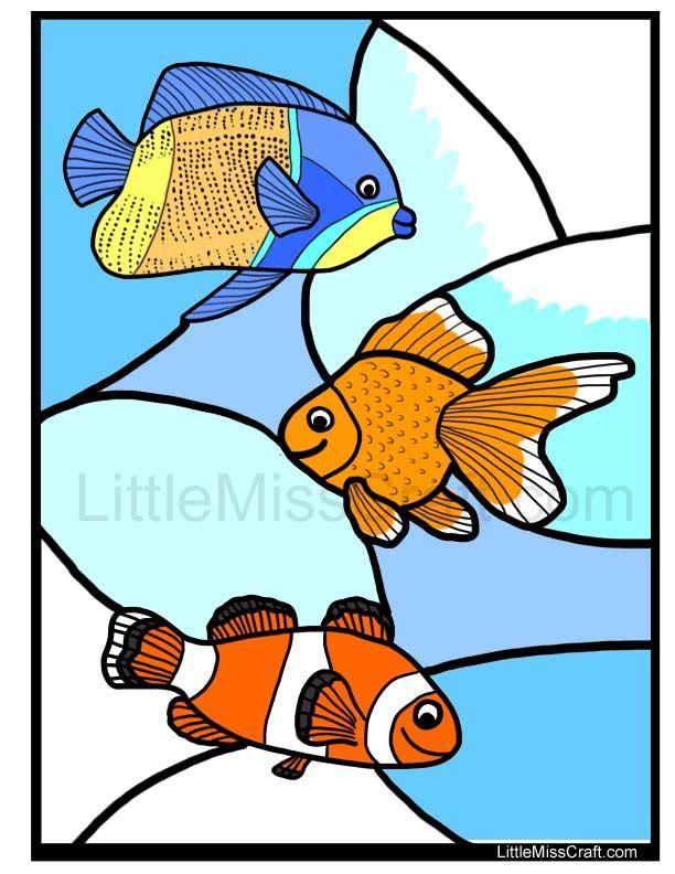 612x792 Angelfish Clipart Nemo Fish