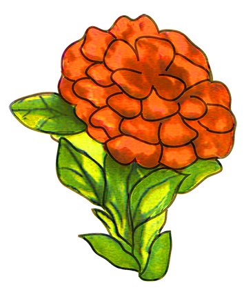 354x420 Free Flower Clipart