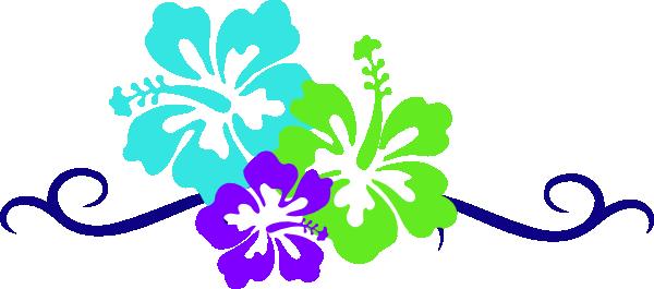 600x265 Hawaiian Flowers Clipart Free Download Hawaiian