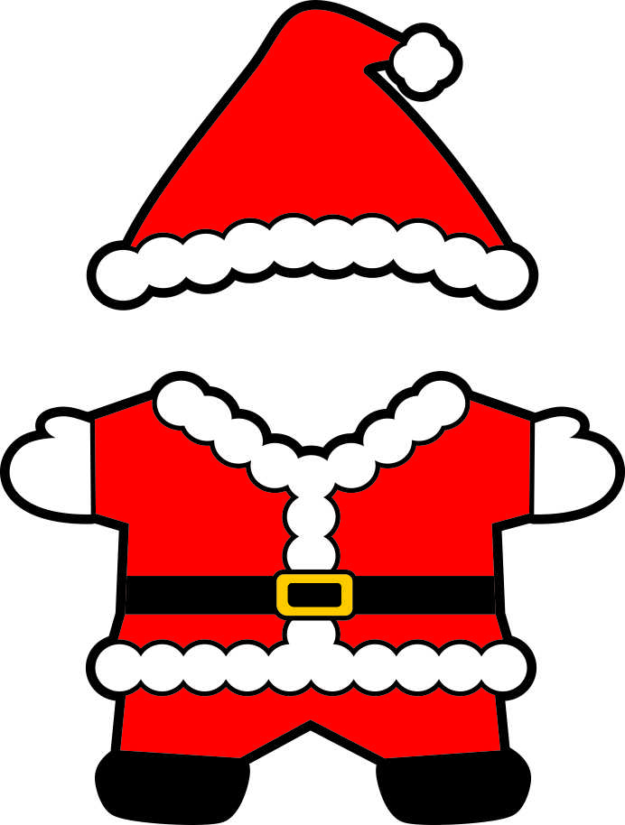 692x914 Clipart Santa Clothes Amp Clip Art Santa Clothes Images