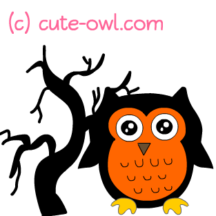 313x313 Halloween Owl Clipart Clipart Panda
