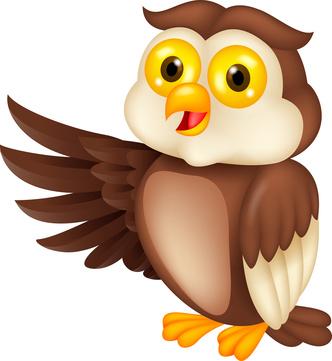 332x361 Owls On Owl Clip Art And Cartoon Owls 4 Clipartbarn